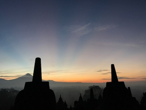 Sunrise at Jogja
